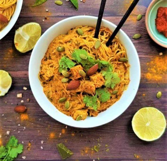 Nouilles thaï recette