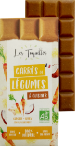 Les Toquettes tablette Carotte Curry Coco Gingembre