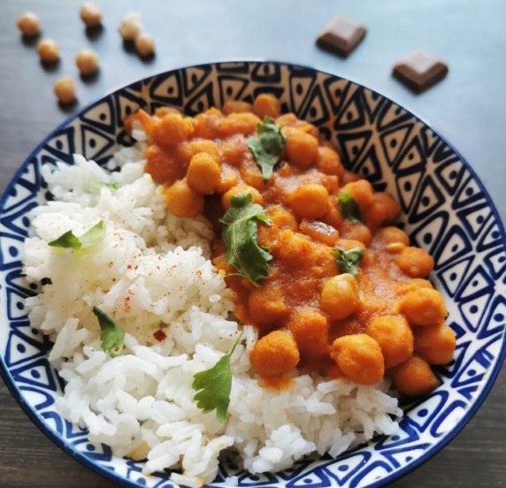 Curry de pois chiches recette