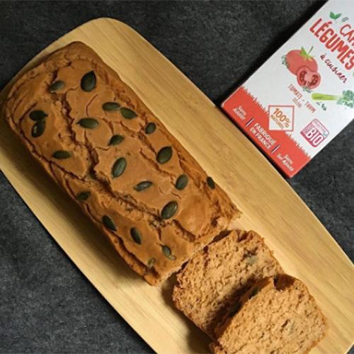 cake salé sans gluten tomate thym recette
