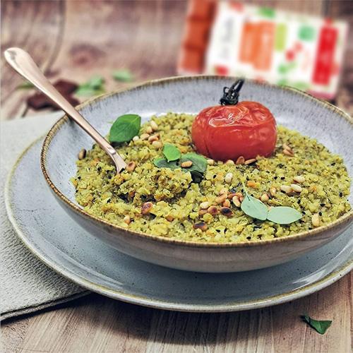 Risotto de quinoa à la provençale recette