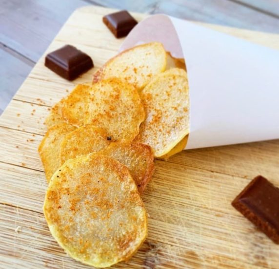 Chips tomate recette