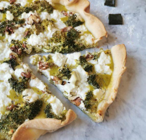 Tarte brocolis recette