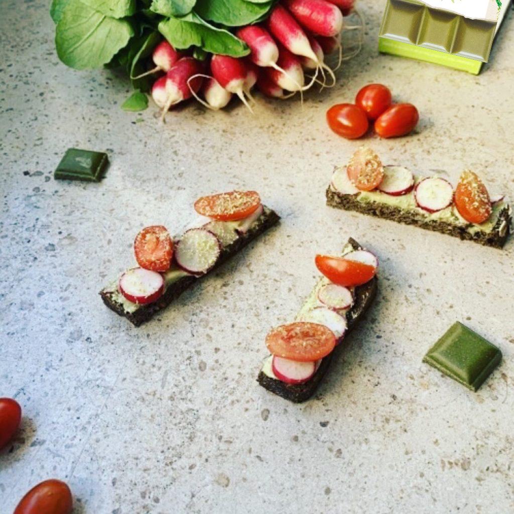 Tartines fraicheur recette