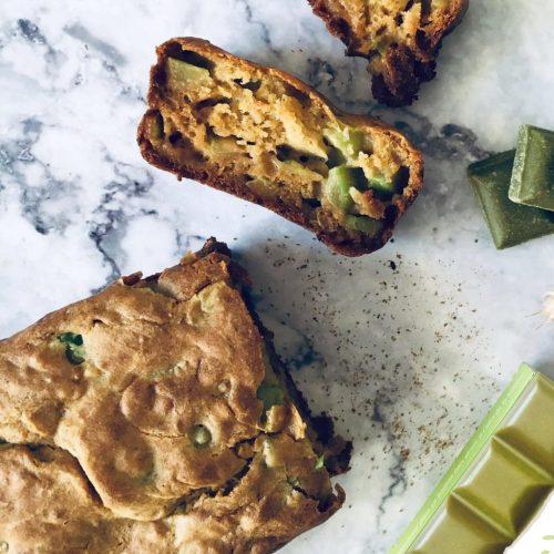Cake vegan courgette recette