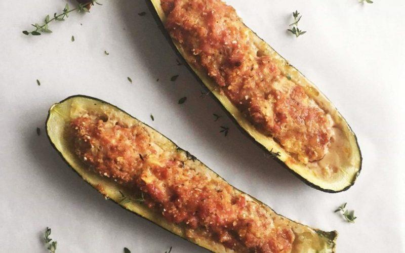 Courgettes farcies recette