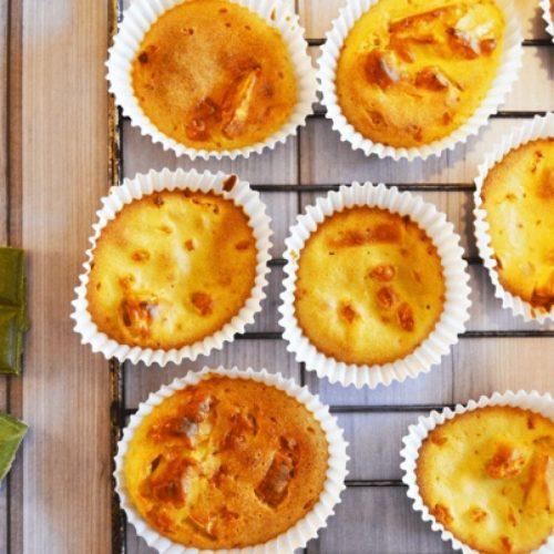 Muffins chèvre poireau recettte