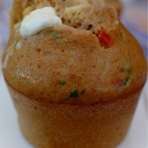 Muffins légumes du soleil recette