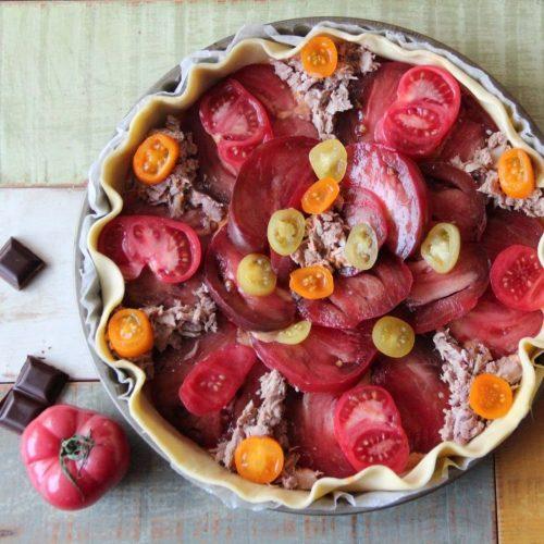 Tarte thon tomate recette
