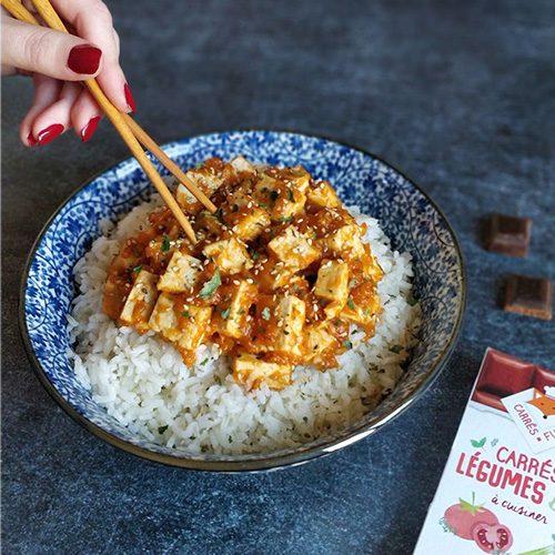 Tofu Bowl Tomate Thym recette