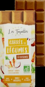 Les Toquettes tablette Carotte Curry Coco Gingembre