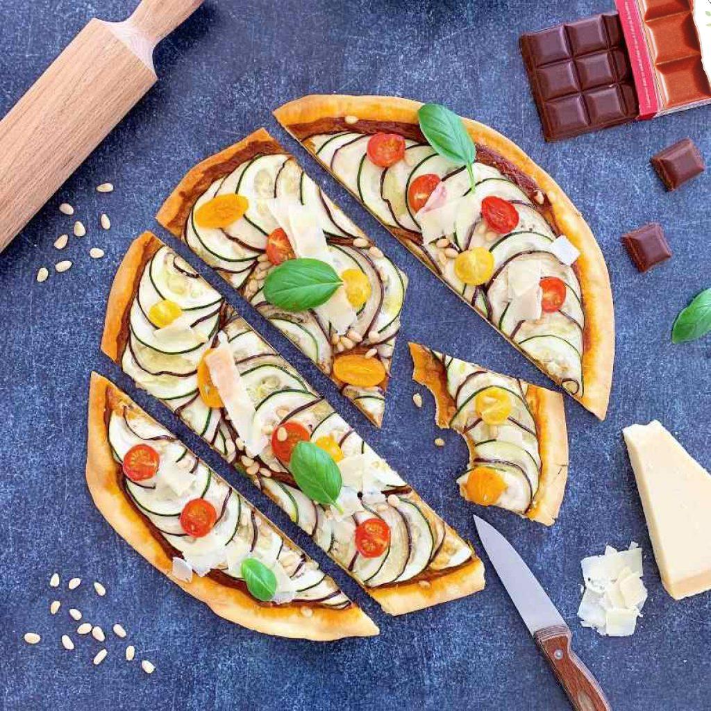 Pizza d'été recette