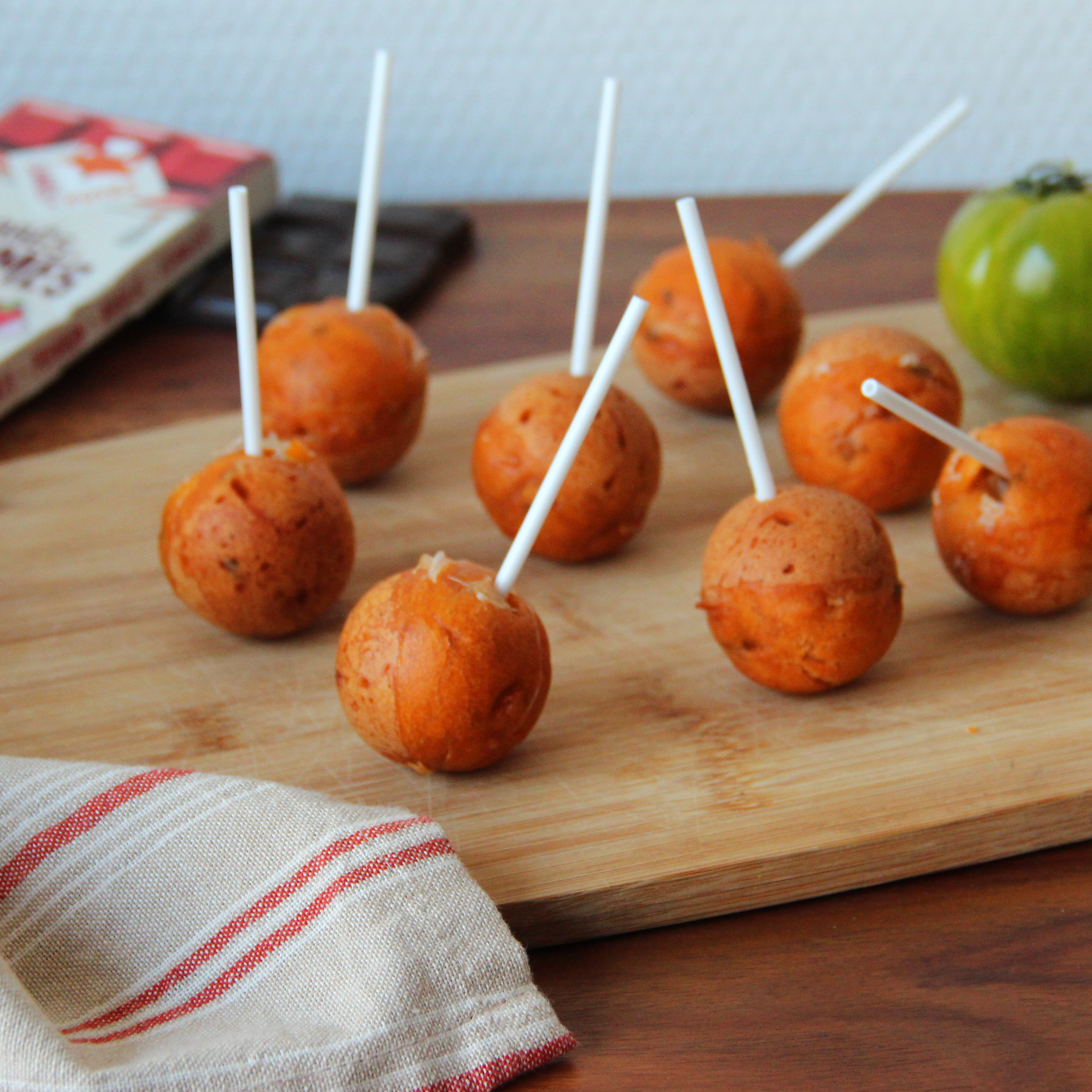 pop cakes tomate recette