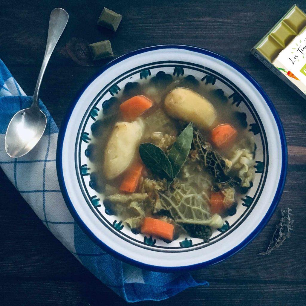 Soupe aux choux recette