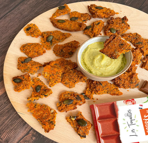Crackers tomate thym recette